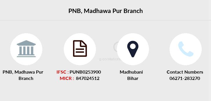 Punjab-national-bank Madhawa-pur branch