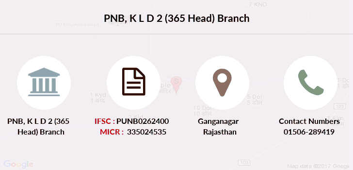 Punjab-national-bank K-l-d-2-365-head branch