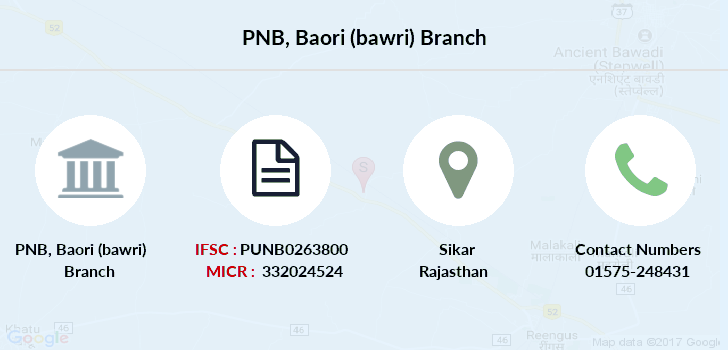 Punjab-national-bank Baori-bawri branch