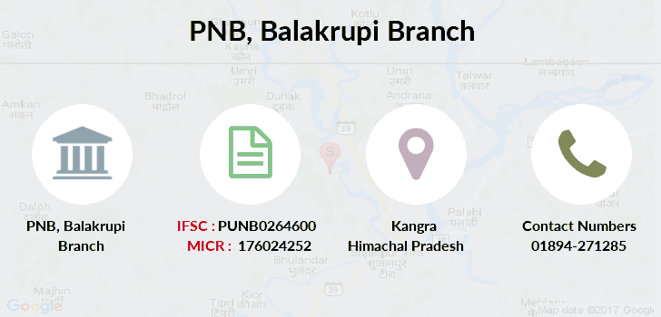 Punjab-national-bank Balakrupi branch