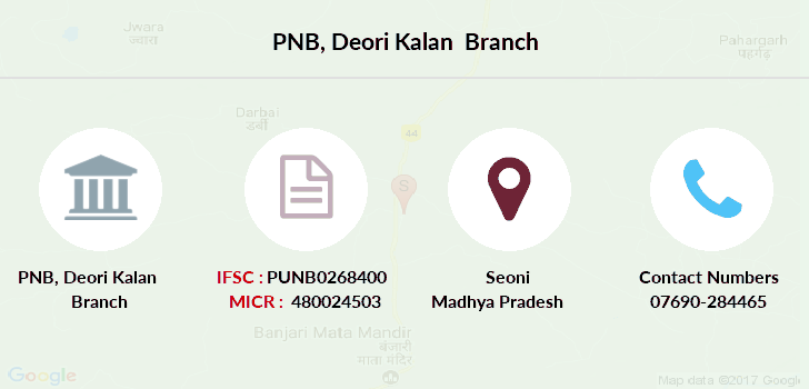 Punjab-national-bank Deori-kalan branch