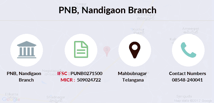 Punjab-national-bank Nandigaon branch