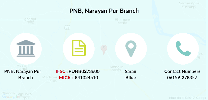Punjab-national-bank Narayan-pur branch