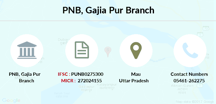 Punjab-national-bank Gajia-pur branch