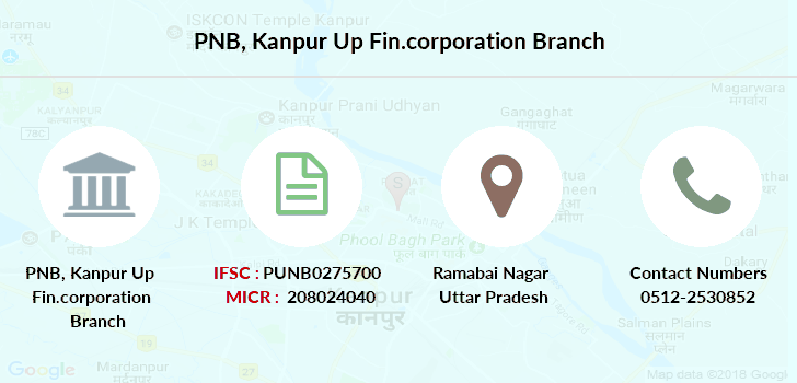 Punjab-national-bank Kanpur-up-fin-corporation branch