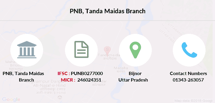 Punjab-national-bank Tanda-maidas branch