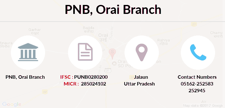 Punjab-national-bank Orai branch