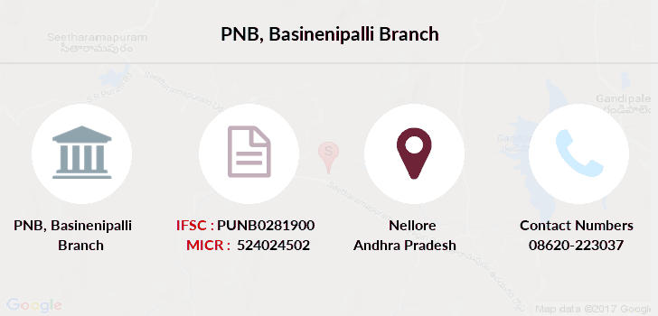 Punjab-national-bank Basinenipalli branch