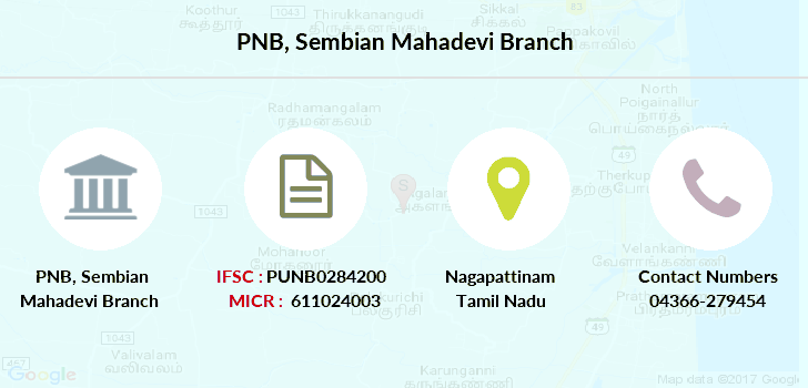 Punjab-national-bank Sembian-mahadevi branch