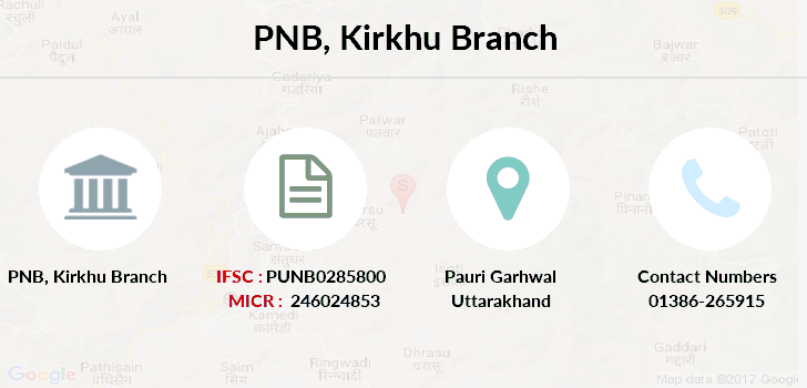 Punjab-national-bank Kirkhu branch