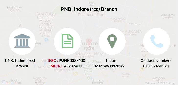Punjab-national-bank Indore-rcc branch