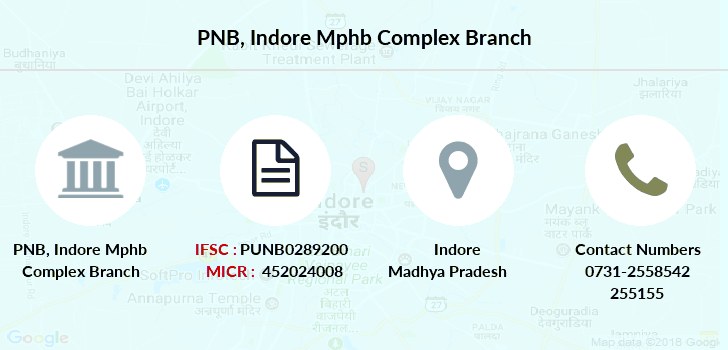 Punjab-national-bank Indore-mphb-complex branch