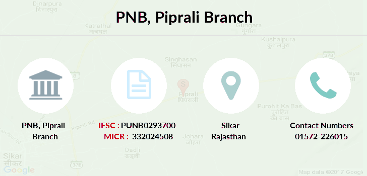 Punjab-national-bank Piprali branch
