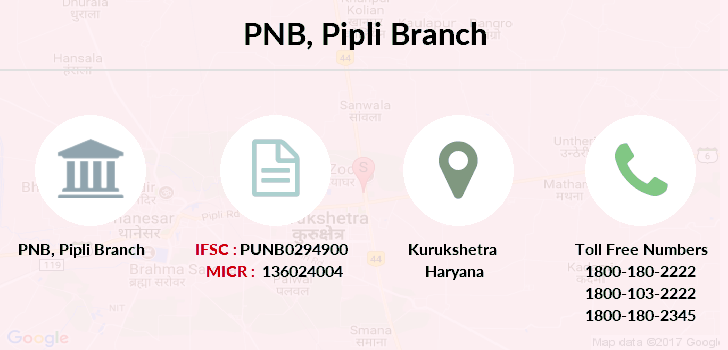Punjab-national-bank Pipli branch