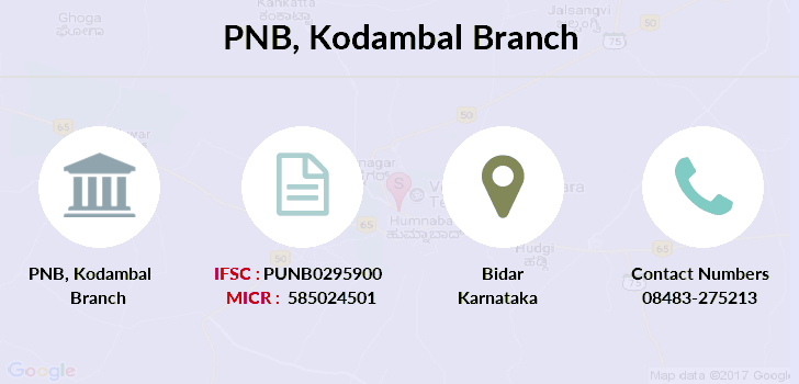 Punjab-national-bank Kodambal branch