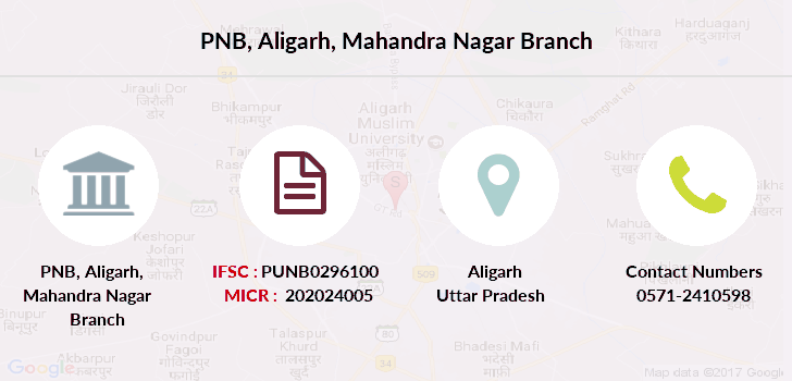 Punjab-national-bank Aligarh-mahandra-nagar branch