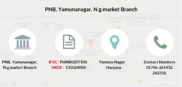 Punjab-national-bank Yamunanagar-n-g-market branch