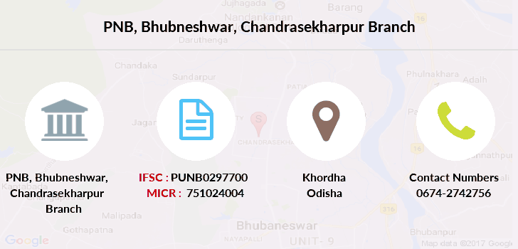 Punjab-national-bank Bhubneshwar-chandrasekharpur branch