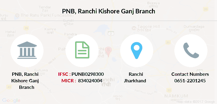 Punjab-national-bank Ranchi-kishore-ganj branch
