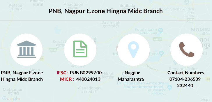Punjab-national-bank Nagpur-e-zone-hingna-midc branch