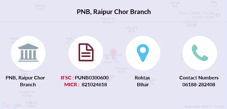 Punjab-national-bank Raipur-chor branch