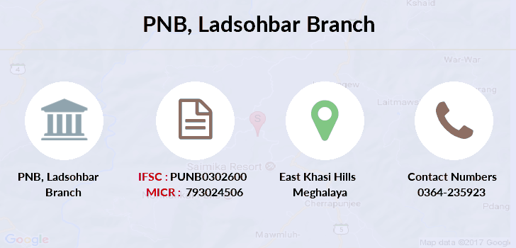 Punjab-national-bank Ladsohbar branch
