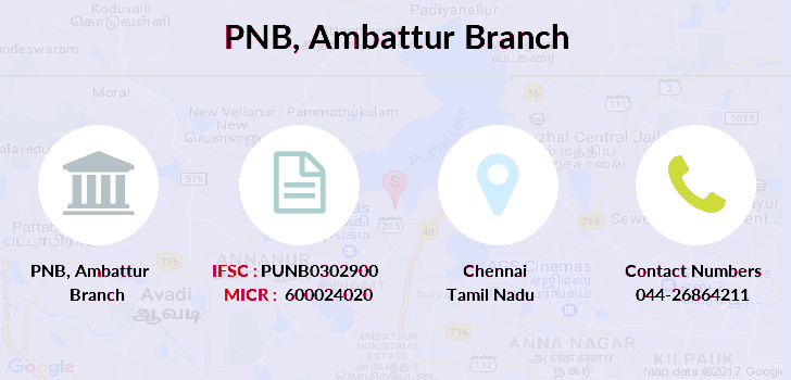 Punjab-national-bank Ambattur branch