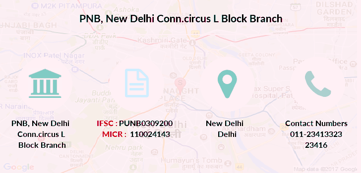 Punjab-national-bank New-delhi-conn-circus-l-block branch