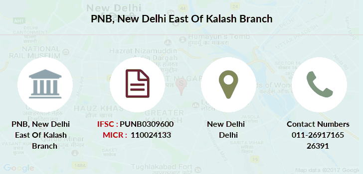 Punjab-national-bank New-delhi-east-of-kalash branch