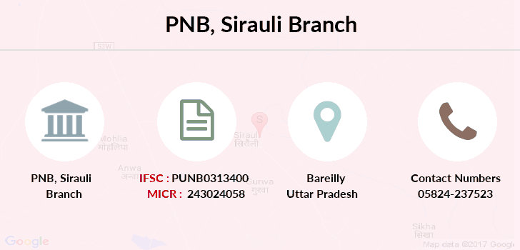 Punjab-national-bank Sirauli branch