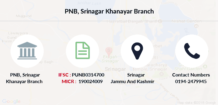 Punjab-national-bank Srinagar-khanayar branch