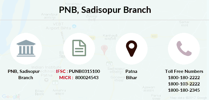 Punjab-national-bank Sadisopur branch