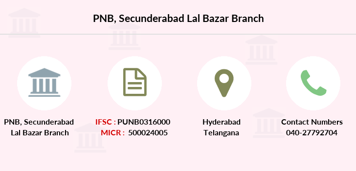 Punjab-national-bank Secunderabad-lal-bazar branch