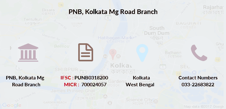 Punjab-national-bank Kolkata-mg-road branch