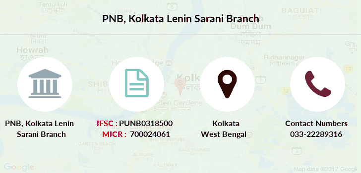 Punjab-national-bank Kolkata-lenin-sarani branch
