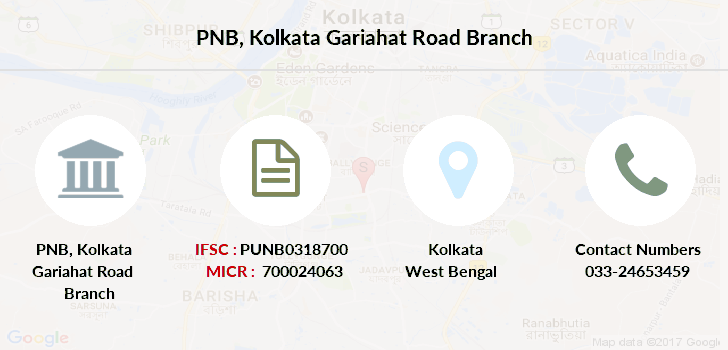 Punjab-national-bank Kolkata-gariahat-road branch