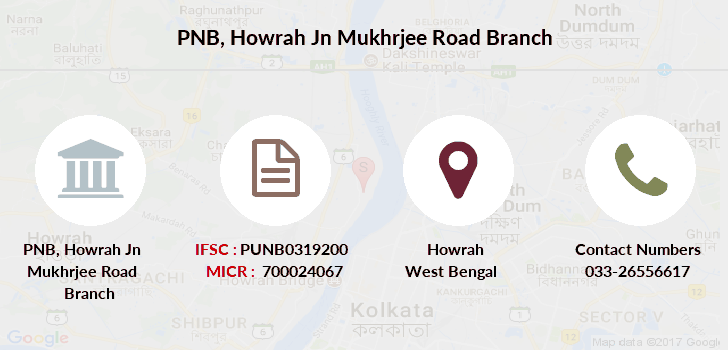 Punjab-national-bank Howrah-jn-mukhrjee-road branch