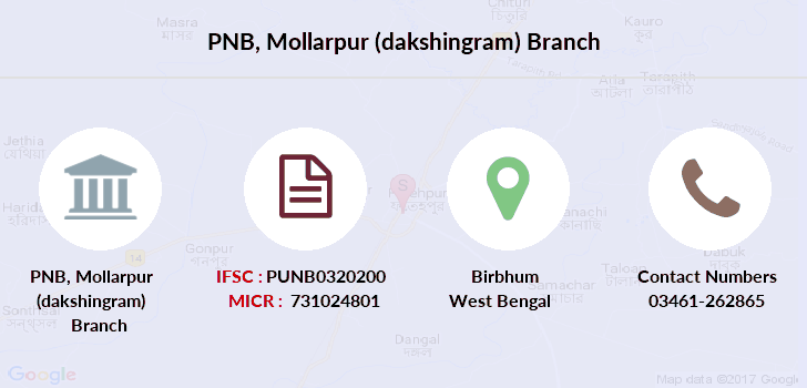 Punjab-national-bank Mollarpur-dakshingram branch