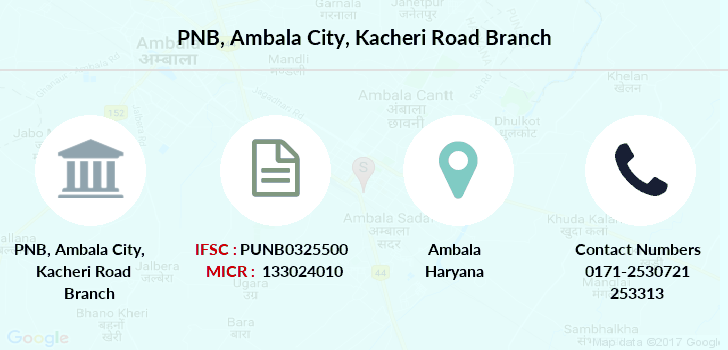 Punjab-national-bank Ambala-city-kacheri-road branch