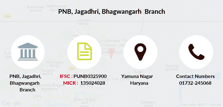 Punjab-national-bank Jagadhri-bhagwangarh branch