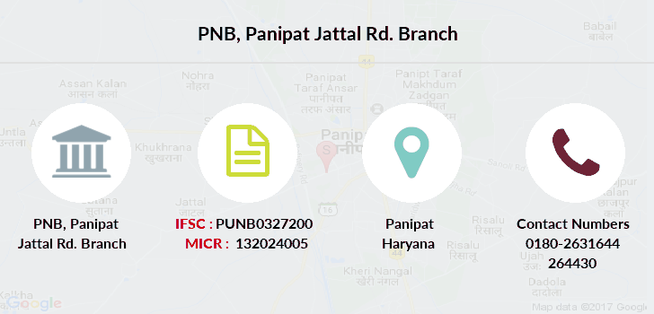 Punjab-national-bank Panipat-jattal-rd branch