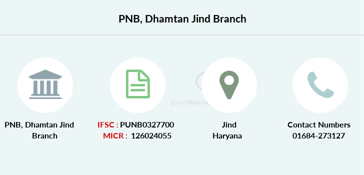 Punjab-national-bank Dhamtan-jind branch