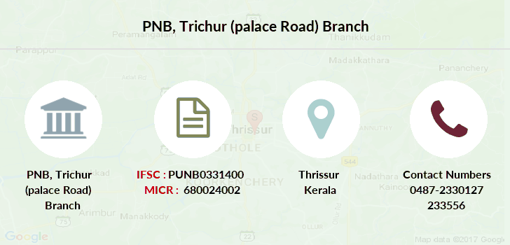 Punjab-national-bank Trichur-palace-road branch
