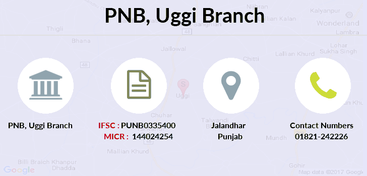 Punjab-national-bank Uggi branch