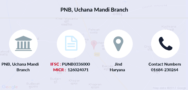 Punjab-national-bank Uchana-mandi branch