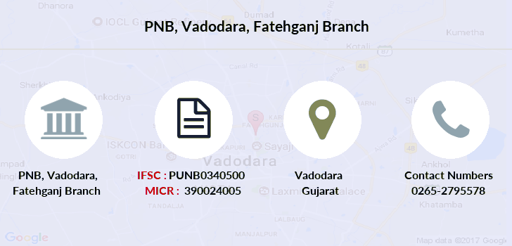 Punjab-national-bank Vadodara-fatehganj branch