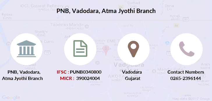 Punjab-national-bank Vadodara-atma-jyothi branch