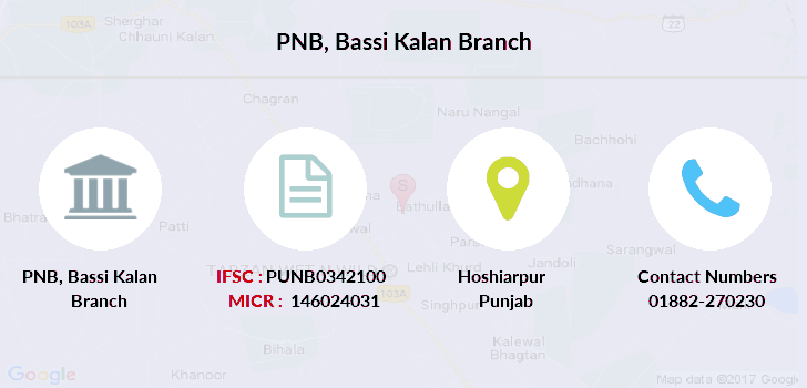 Punjab-national-bank Bassi-kalan branch