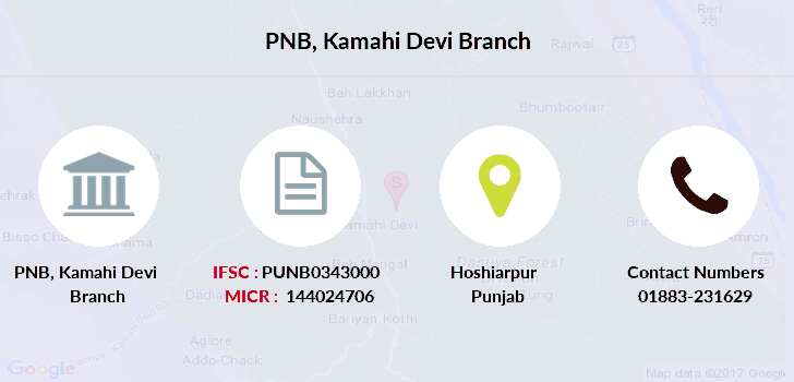 Punjab-national-bank Kamahi-devi branch