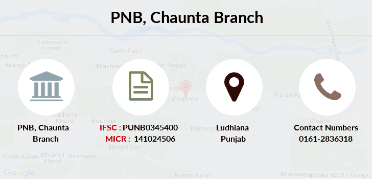 Punjab-national-bank Chaunta branch